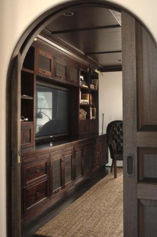 客厅电视柜地中海风格效果图