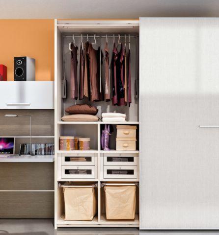 卧室衣柜现代风格装修图片