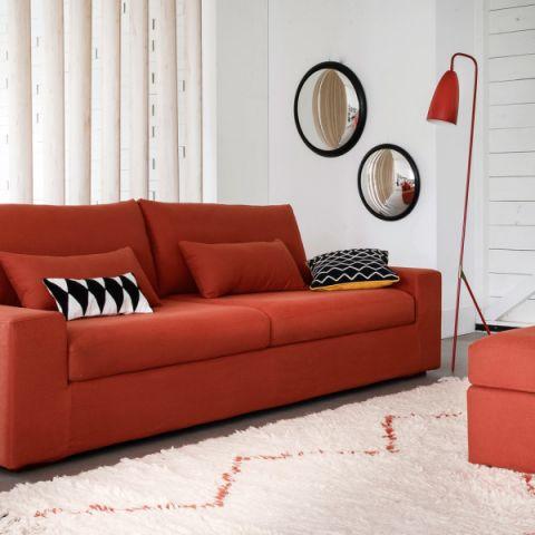 客厅沙发混搭风格装潢设计图片