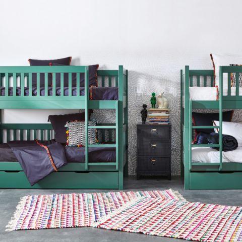儿童房床混搭风格装修图片