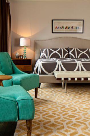 卧室沙发混搭风格装修图片