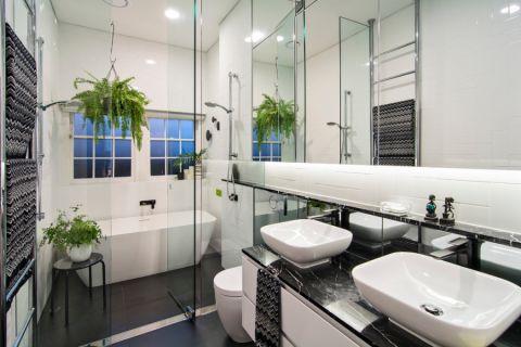 97平米一居室现代装饰设计图片_土拨鼠装修效果图