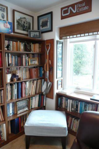 书房书架混搭风格装修设计图片