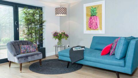 客厅沙发混搭风格装潢图片