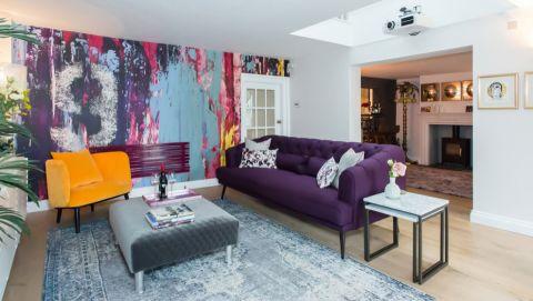 142平米二居室混搭装潢实景图_土拨鼠装修效果图