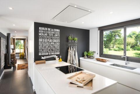 厨房厨房岛台北欧风格装修设计图片