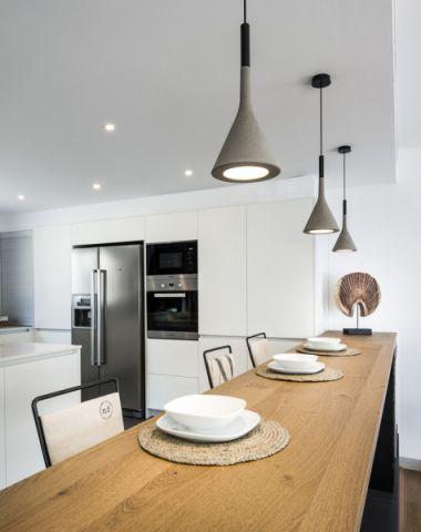 厨房吧台北欧风格装修设计图片