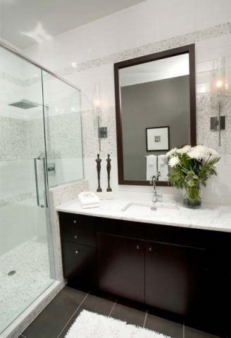 浴室隔断现代风格效果图
