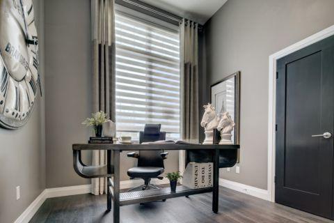 书房窗帘现代风格效果图