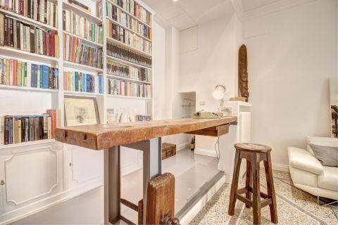 书房书桌现代风格效果图