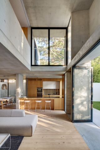 厨房推拉门现代风格装饰设计图片