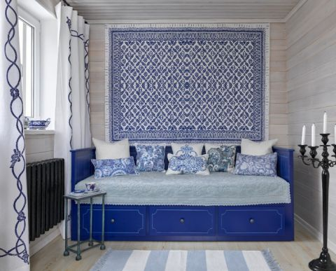 书房沙发混搭风格装修设计图片