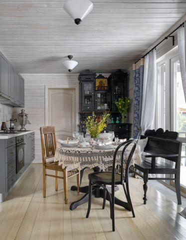 厨房餐桌混搭风格装修图片