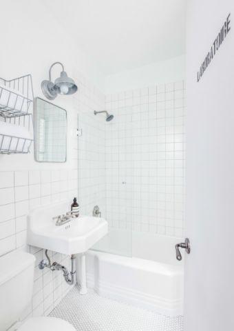 浴室洗漱台混搭风格装修设计图片