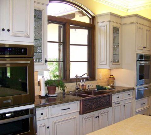厨房窗台美式风格装修图片