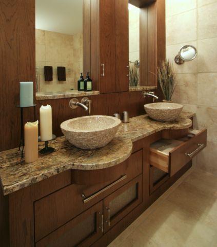 浴室现代风格效果图大全2017图片_土拨鼠大气奢华浴室现代风格装修设计效果图欣赏