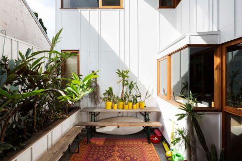 阳台细节混搭风格装潢效果图
