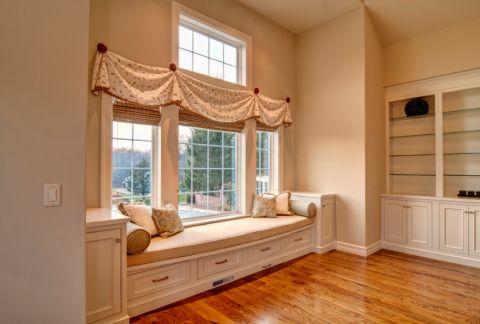 客厅窗帘混搭风格装修效果图