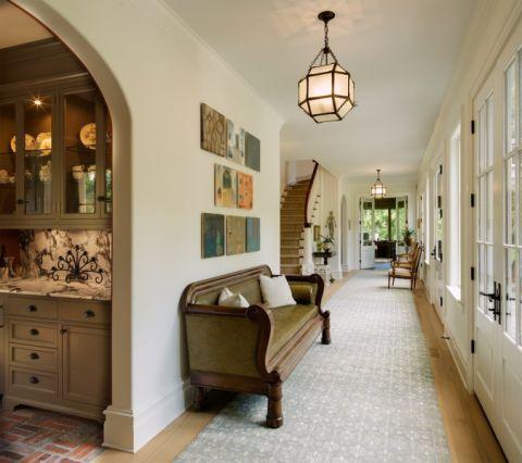 玄关走廊混搭风格装修效果图