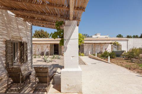 阳台走廊地中海风格装饰设计图片