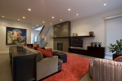 客厅现代风格效果图大全2017图片