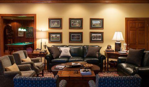 客厅照片墙美式风格装修设计图片