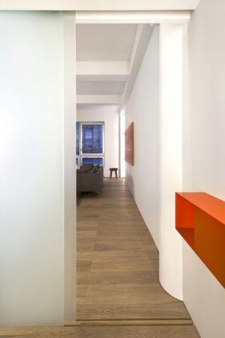 客厅走廊现代风格装潢图片