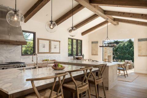 厨房地中海风格效果图大全2017图片