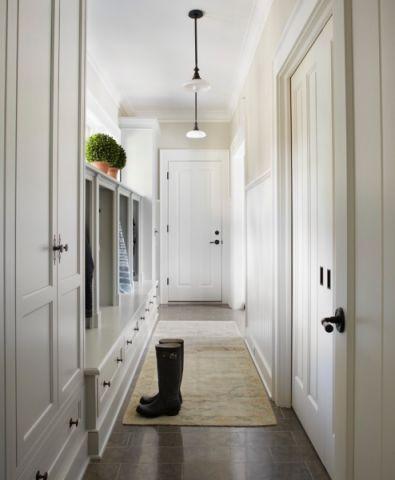 玄关吊顶美式风格装饰图片