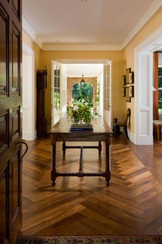 玄关门厅美式风格装饰设计图片