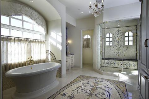 浴室混搭风格效果图大全2017图片