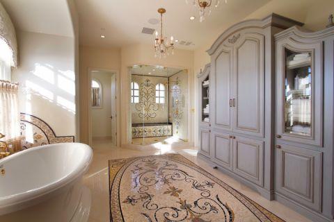浴室吊顶混搭风格装修设计图片