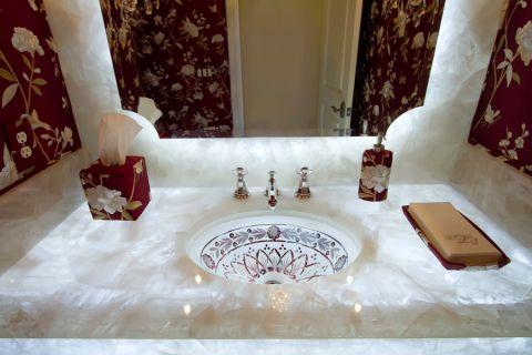 浴室洗漱台混搭风格装修效果图
