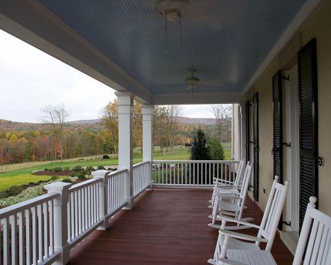 阳台地板砖美式风格装修效果图