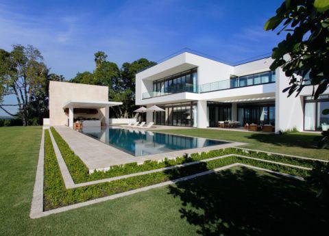 300平米庭院现代风格装饰图片
