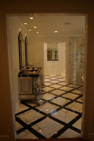 浴室吊顶美式风格效果图