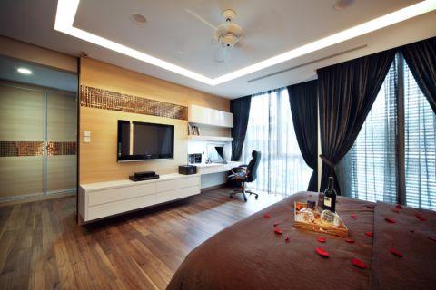 卧室电视柜现代风格装饰图片