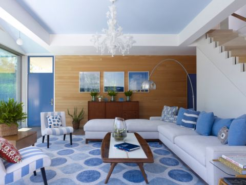 300平米别墅现代风格装修效果图