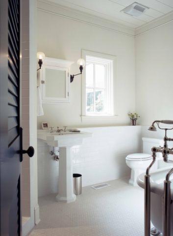 浴室美式风格效果图