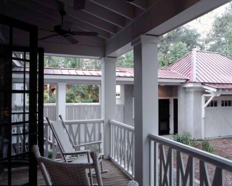 阳台美式风格装修设计图片