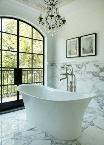 浴室浴缸地中海风格装潢设计图片