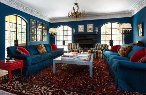 客厅茶几地中海风格装饰效果图