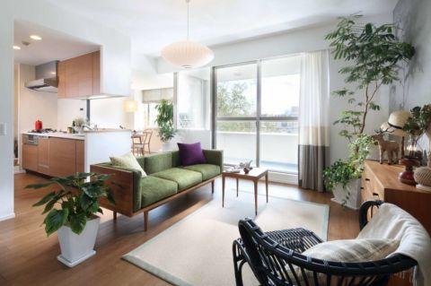 60平米套房现代风格设计图
