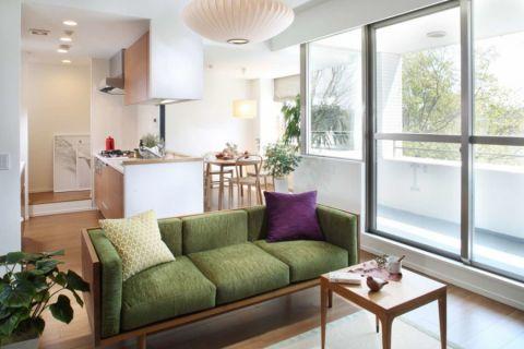 客厅推拉门现代风格装修效果图