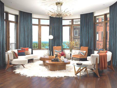 165平米公寓现代风格设计图欣赏