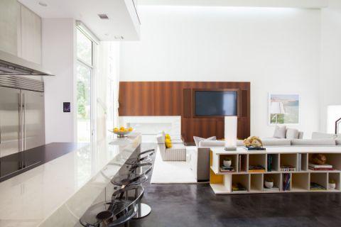 厨房地砖现代风格装潢效果图