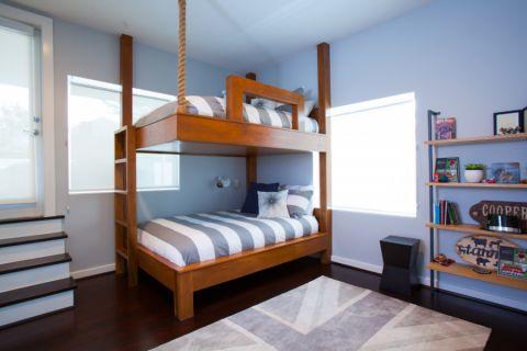 儿童房床现代风格装修设计图片