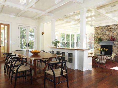 119平米庭院美式风格装修图片