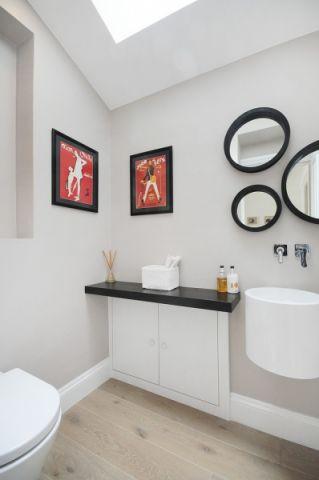 浴室照片墙现代风格装修图片