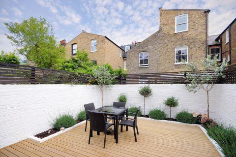 阳台地板砖现代风格装潢设计图片